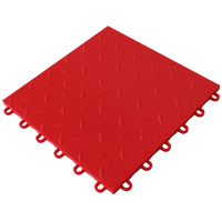 Red Instant Floor Tile PI TILE 001 RD
