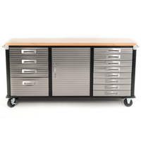 MAXIM HD 72 inch Timber Top Roll Cabinet