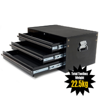 MAXIM 3 Drawer Black Intermediate Toolbox 27 inch PI 006 - BK