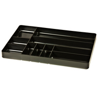 STEALTH 10 Compartment Black Tool Tray ST 5011