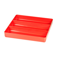STEALTH 3 Compartment Red Tool Tray ST 5020