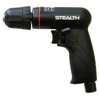 STEALTH 1/4 inch Reversible Mini Air Drill with Keyless Chuck PIA 284PR-02