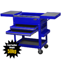 MAXIM Blue Bench Service Cart PI 008 BL