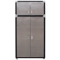 MAXIM HD 4 Door Super Size Upright Cabinet with Top Extension