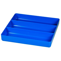 STEALTH 3 Compartment Blue Tool Tray ST 5022