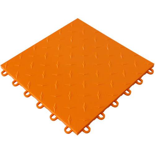 Orange Instant Floor Tile PI TILE 001 OR