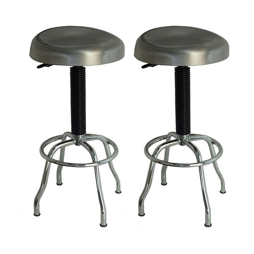 MAXIM HD Set of 2 Stainless Steel Stools