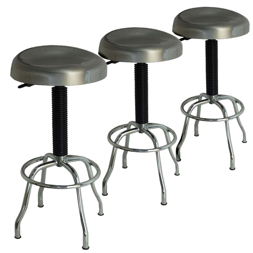 Stainless Steel Stools Kitchen: Buy Set Of 3 Stainless Steel Stools Combination Package