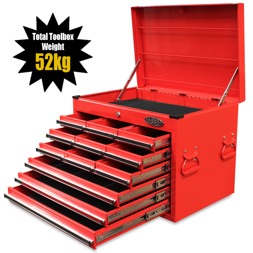 NEW MAXIM 12 Drawer Red Top Chest 27 Toolbox (Available November 5, 2020)